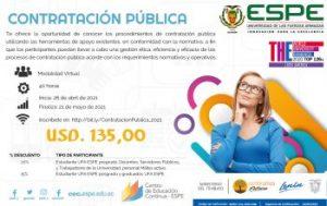 Curso de Contratación Pública @ Modalidad Virtual